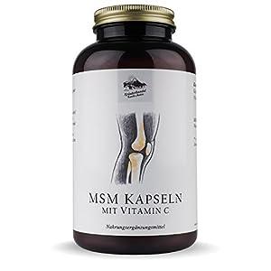 Kräuterhandel Sankt Anton – MSM Kapseln – 300 Kapseln – mit Vitamin C – Deutsche Premium Qualität