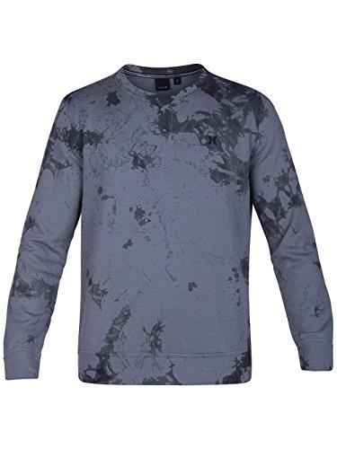 Herren Sweater Hurley Beach Club Raw Crew Sweater Black