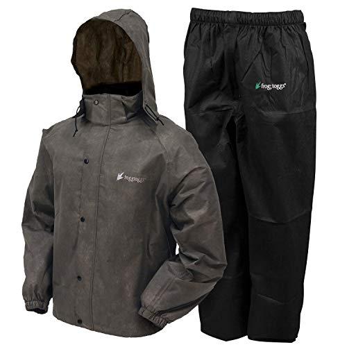 Frogg Togg Herren \'s All Sport Regen und Wind Anzug, stone/schwarz, mittel