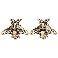 TOKO Bee Brooches Bee Pin Vintage Small Women Men - 2 PCS Gold