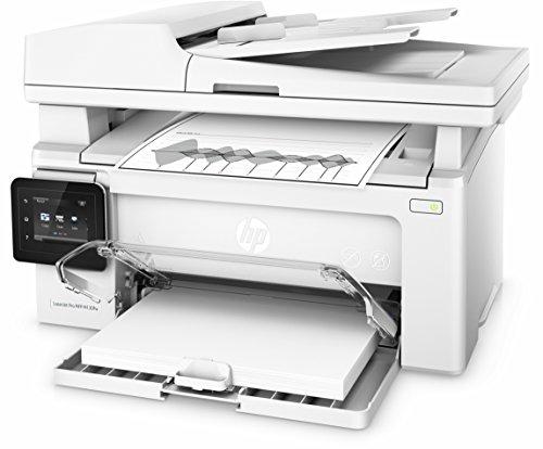 HP LaserJet Pro M130fw Laserdrucker Multifunktionsgerät (Drucker, Scanner, Kopierer, Fax, WLAN, LAN, Apple Airprint, HP ePrint, JetIntelligence, USB, 600 x 600 dpi) weiß - 10