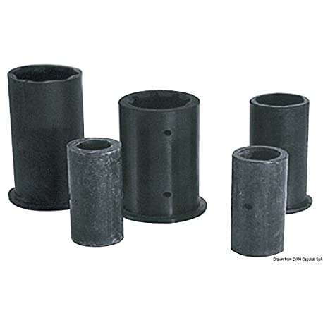 Boccola gomma 22 mm 75 mm English Rubber bush 22 mm 75 mm
