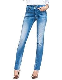 SALSA Jeans Secret Push in con detalles cremalleras