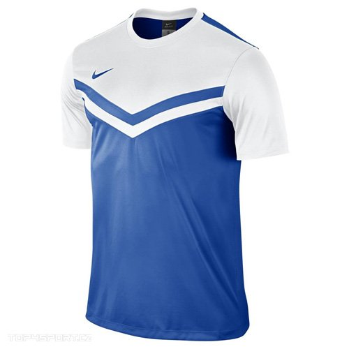 Nike Maglietta a maniche corte Top Victory II Jersey, Uomo, Jersey Victory II, Royal blu/bianco, S