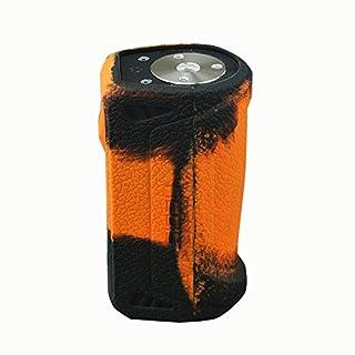 Silikon Schutzhülle Skin Ärmel Cover für geekvape Aegis Mod 100W Schwarz / Orange