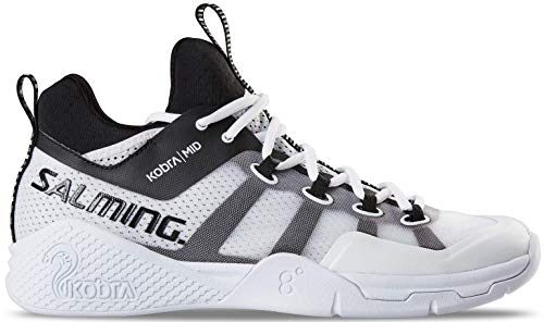 Salming Kobra Mid 2 Shoe - Scarpe da Uomo, Bianco (Bianco), 49 1/3 EU
