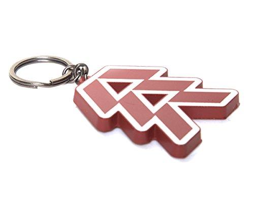 Destiny Hunter Metal Keychain by