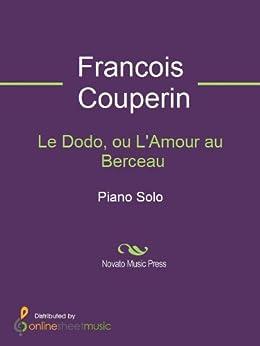 Le Dodo, ou L'Amour au Berceau (English Edition) eBook