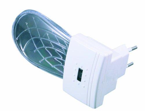 Niermann-Standby 80010 LED-Nachtlicht Muschel mit Dämmerungsautomatik