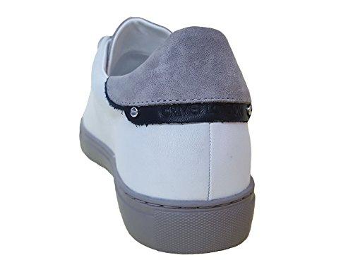 Crime London 11206 Sneaker Uomo Bianca MainApps White