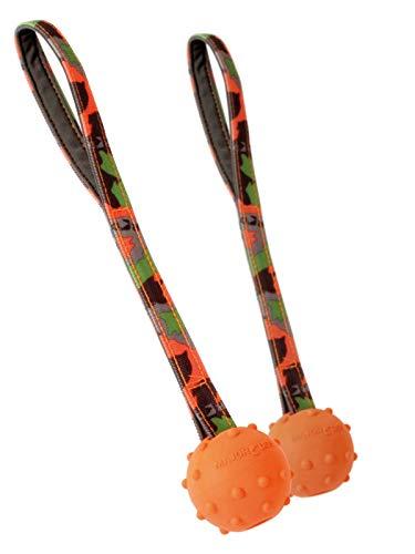MAJOR DOG Doppelpack 2er Set Schleuderball Speed klein Ø 55 mm Hundespielzeug robust & schadstofffrei TÜV geprüft -