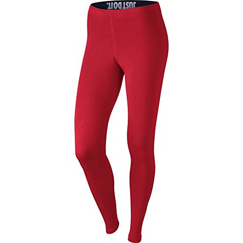 Nike W NSW a leg see lggng Logo – Collant pour femme Rojo (University Red / Noble Red)