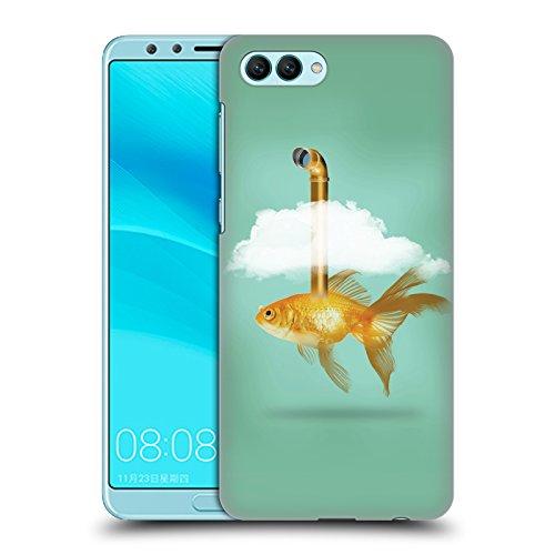 Tasche Periskop (Offizielle Vin Zzep Periskop Goldfisch Fisch Ruckseite Hülle für Huawei Nova 2S)