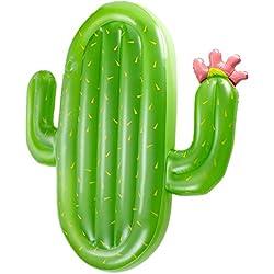 Sensexiao Asiento Inflable de los flotadores de la Piscina del PVC de la Forma del Cactus para los Niños Adultos Juguete del Flotador de los Muchachos de Las Muchachas de los Niños Juguete de Agua
