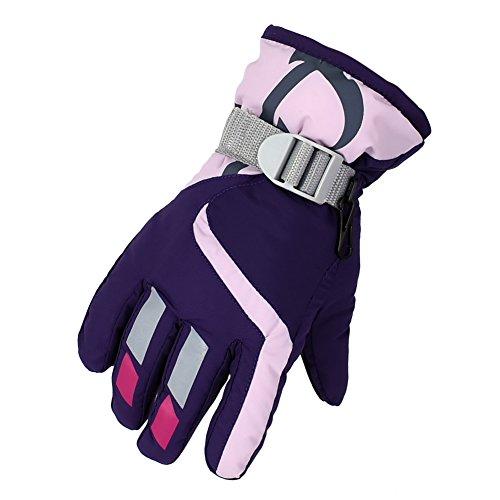 Saoirse Ski Wasserdichte Kinder Handschuhe Winter Warm Outdoor Riding Verdickung Handschuhe