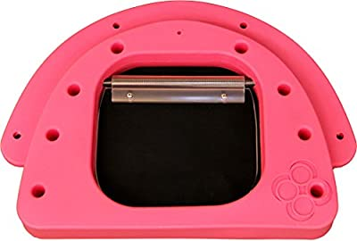 PetzPodz SMALL pink premium plastic Front Insert for pod with clear acrylic cat flap