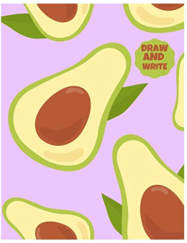Grey Wall Cover Avocados Are The Good Fat Like Boobs: Fun Beautiful Blank Notebook//Journal For Avocado Lovers Custom Interior 8x10 Size