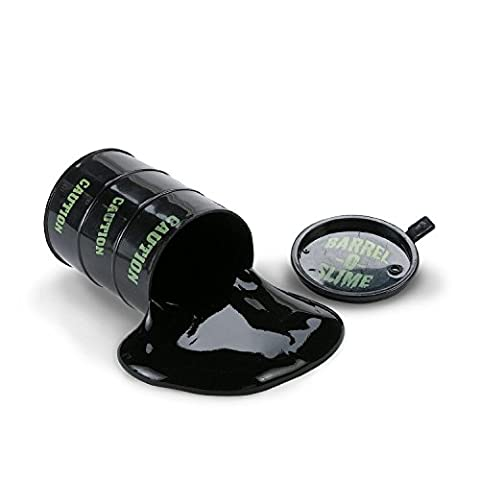SolPortalHome Barrel-O-Slime Paint Oil Ink Tricky Gift Carnival Party Favor Joke Toys Black