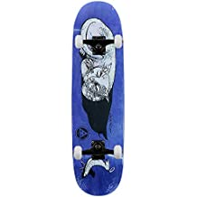 """Welcome Skateboards Miller Guilty Cat On catboold monopatín azul 8,5"""""""