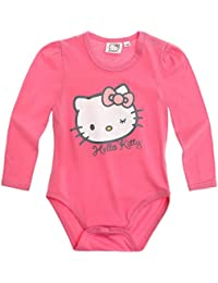 Hello Kitty Body pour bébé fushia