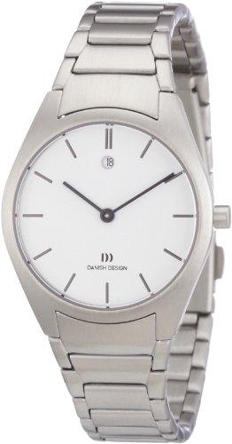 Danish Design 3324361 - Reloj analógico de cuarzo para mujer con correa de acero inoxidable, color plateado