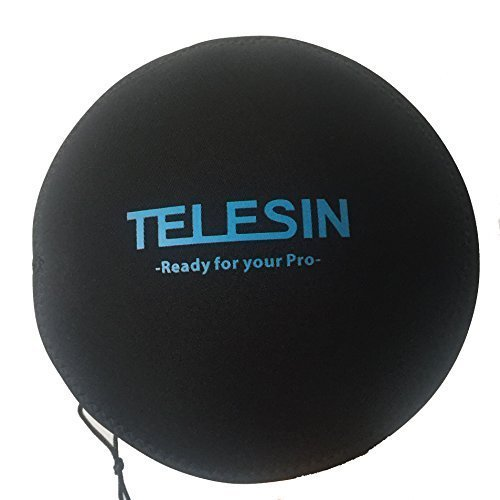 TELESIN Dome Port and Accessories for Gopro Hero4/3+/3 Underwater Photography