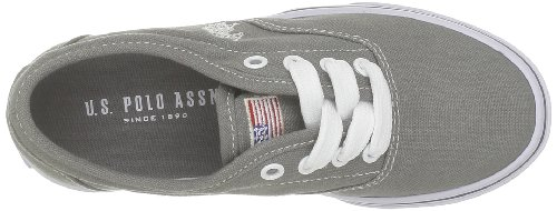 US Polo Assn, Unisex - Kinder Sneaker Grau - Gris (Grey)