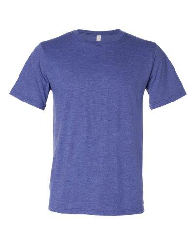 Anvil Mens 4.8 oz Conversion Blend Short-Sleeve T-Shirt (450) -Heather BL -S -