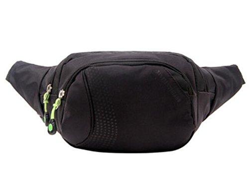 ZYT Tasche Taschen Taschen Nylon Männer im freien Sport und Freizeit Taschen Black