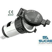 12V 120W de potencia para moto barco encendedor de cigarrillos del coche Socket Plug