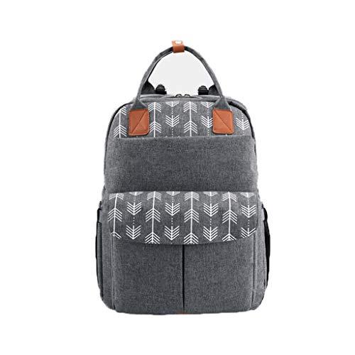 Große Kapazitäts-Windel-Beutel-Mama Umstandswickeltasche Reisen Rucksack Nursing Tasche for Babypflege Damen-Rucksack