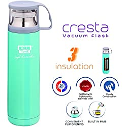 All Time Cresta Elite Stainless Steel Elite Bottle, 450ml/67mm, Sky Blue