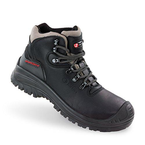 Sixton Sicherheits Stiefel CORVARA S3 SRC Black