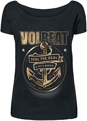 Volbeat Anchor Maglia donna nero XXL