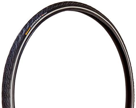 Continental Trekking und City- Reifen Contact II Reflex 3/180 + SafetySystem Breaker, black reflex, 700 x 37C, 100262