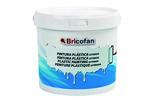 Cofan 15002370 - Pintura plástica exterior (5 kg) color blanco