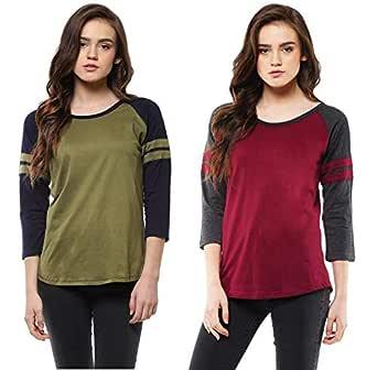Veirdo Women's T-Shirt(Pack of 2)