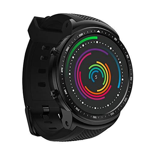 TCFZSNB Fitness Tracker , Super Tough Smart Uhr Outdoor Sports Talking Watch Herren Digital Sportuhr Wasserdicht Outdoor Pedometer Kalorienzähler Multifunktions Bluetooth Smart Watch (schwarz) -