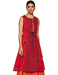 Amazon Brand - Myx Women's Straight Kurti