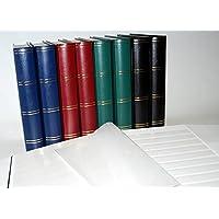 Leuchtturm Clasificador sellos 60 paginas, color azul