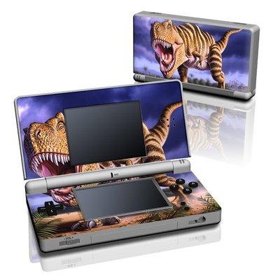 Nintendo DS Lite Skin - Designfolie / Schutzfolie modding Aufkleber - Dino Brown Rex