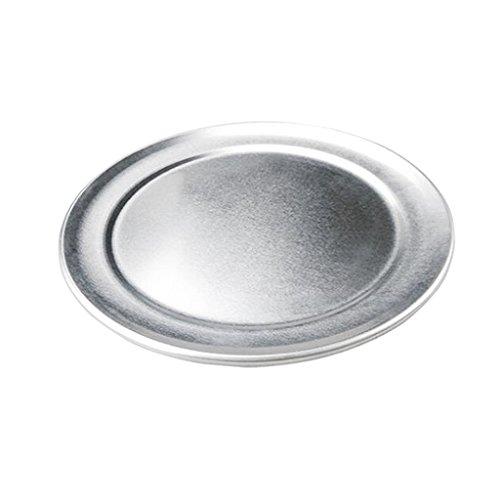 MagiDeal 1x Plateau à Pizza En Aluminium Rond Plat de Cuisson Pizza Cuisine/Extérieur/Chef/Cuisine - 15 pouces
