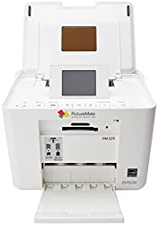 Epson PictureMate Charm PM 225 1.5 Watts Compact Photo Printer (White)