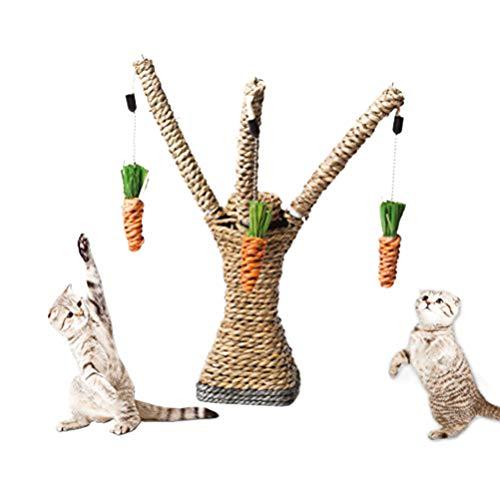 cz-xing Katze Interaktives Baum Tower Kätzchen Kratzbaum Spielzeug SISAL Seil Pet Aktivität Klettern Rahmen -
