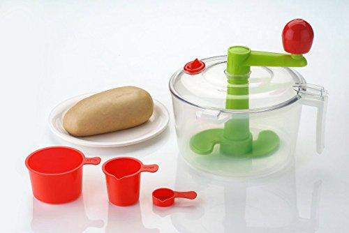 Konvex Dough maker and Atta maker (Green, Brushed)