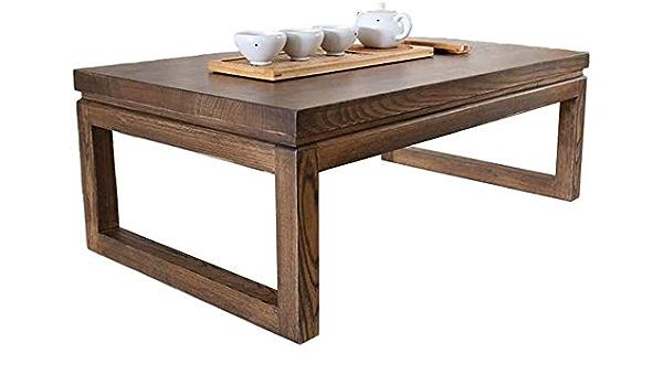 Lyatw Coffee Table Stable Tatami Tea Table Wooden Coffee Table Living Room Simple Table Amazon De Kuche Haushalt