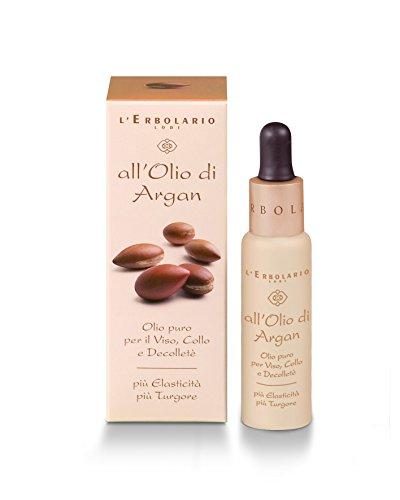 L'Erbolario Arganöl (Rein) für Gesicht, Hals und Dekolleté, 1er Pack (1 x 28 ml)