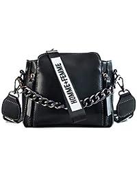 af25f6c17 Mishuo Bolsos Pequeños de Fiesta Bandolera Mujer Clutch Bolso Cuero de  Charol Bolsos de Mano Vestir Moda Chulos…