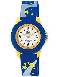 Q&Q Pixie Analog White Dial Children's Watch - VQ96J018Y
