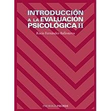 Introducción a la evaluación psicológica II: 2 (Psicología)